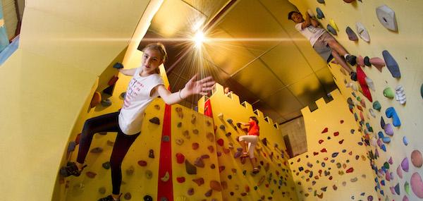 Escalade enfant à Climb Up Dijon